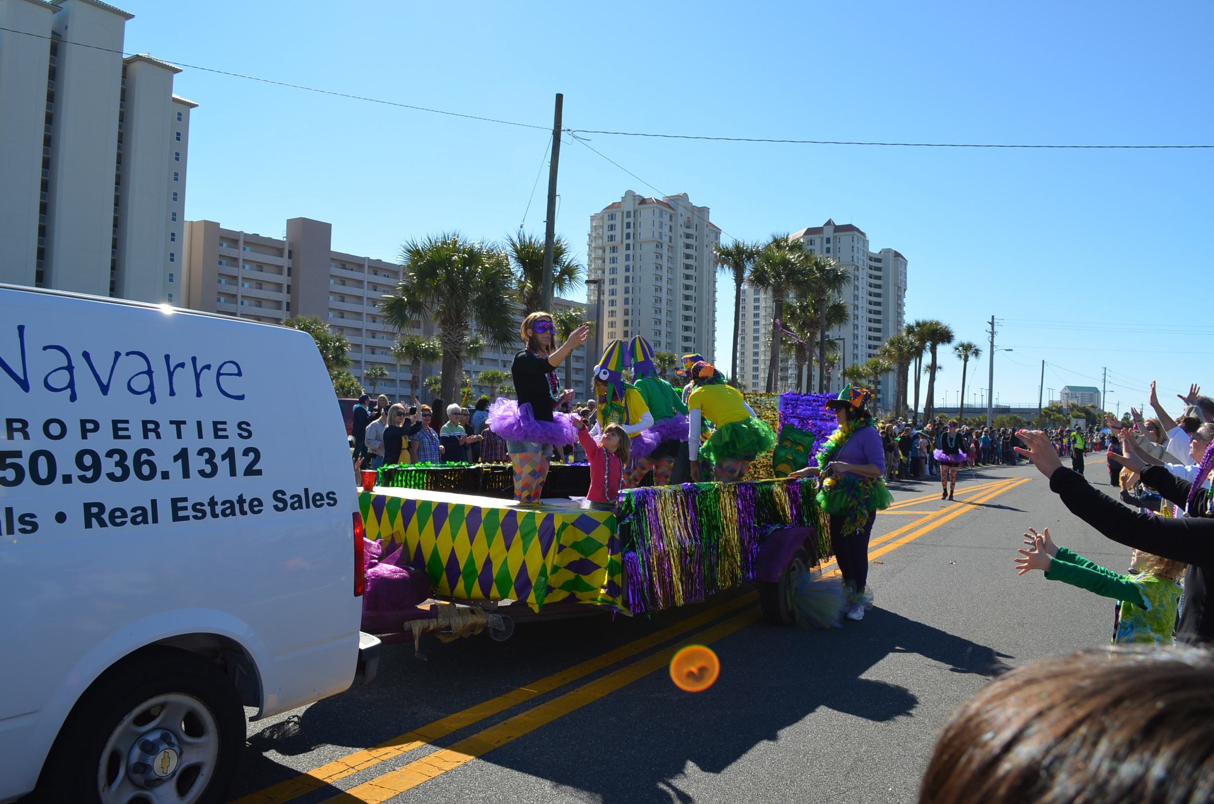 Mardi Gras Float Ideas