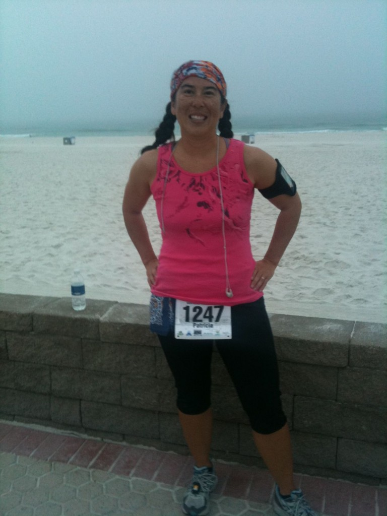 Just before the Gulf Coast Half Marathon, April 2011. There are many things I had to do before I was ready to take this run.