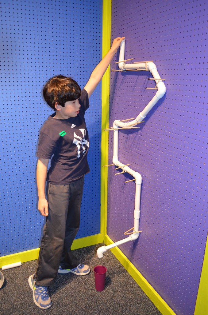 Jacob's marble run.