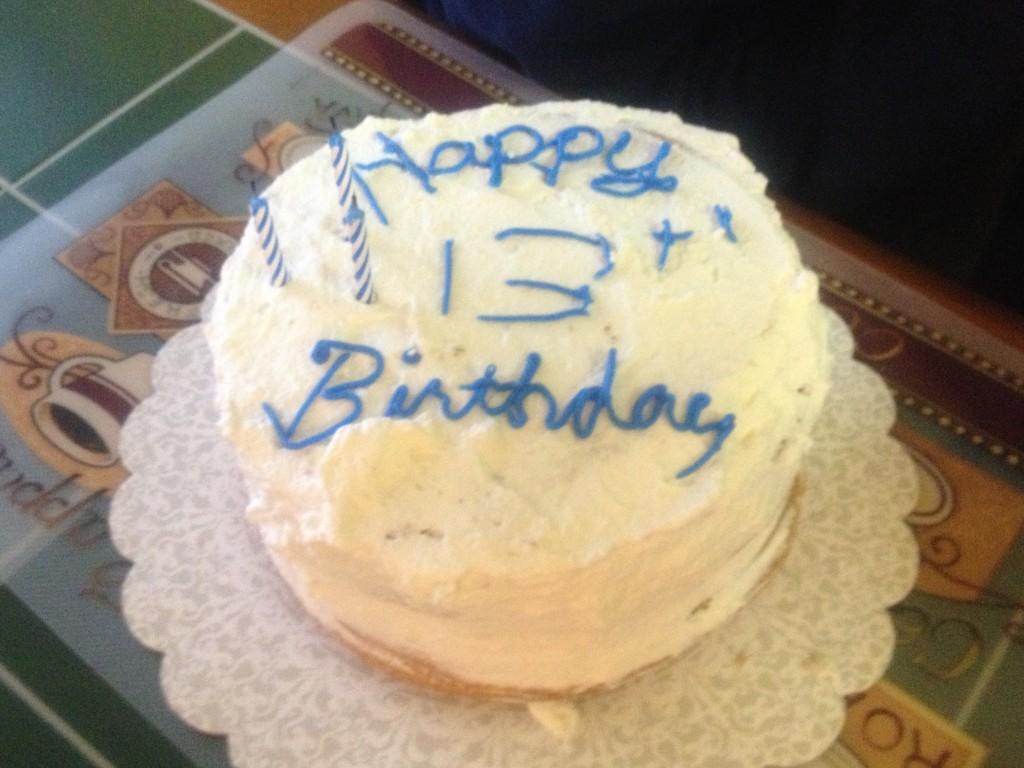 My cake.