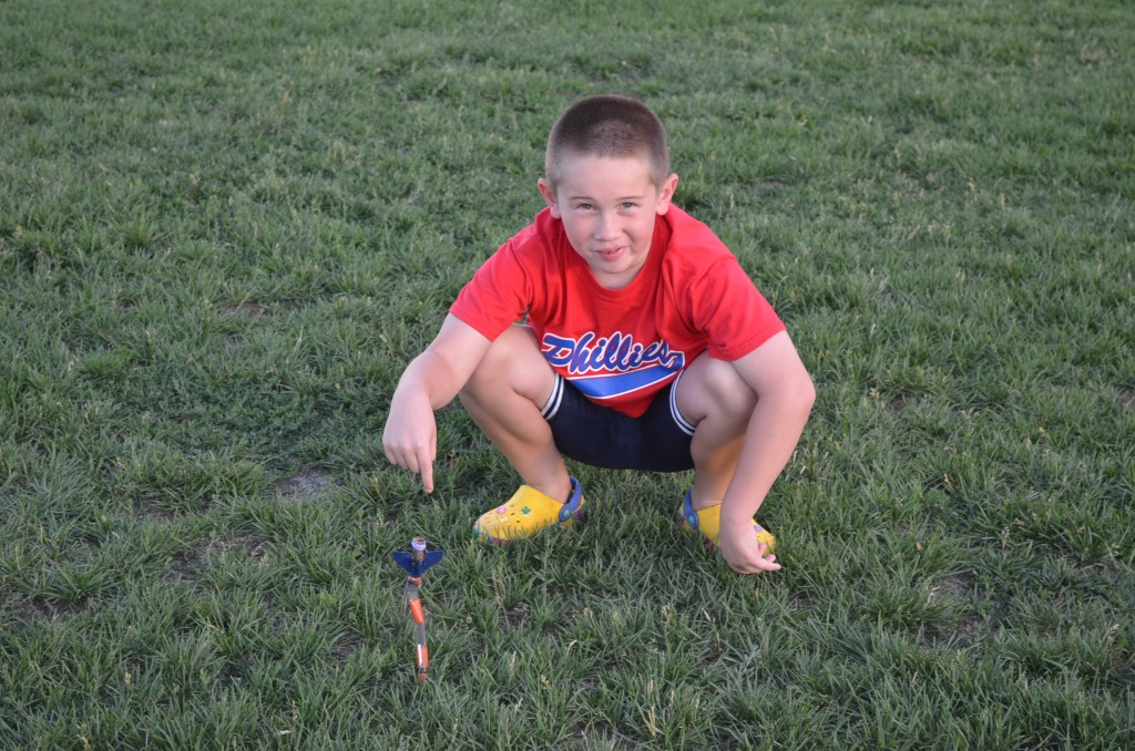 Timmy built a small rocket that had a lot of problems during construction, but ended up launching successfully not once, but four times!