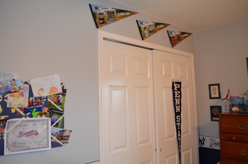 Jacob's NYSA pennants.