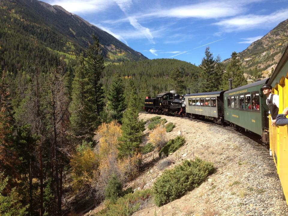 The Georgetown Loop Railroad is a nice short rail excursion that's great for kids.