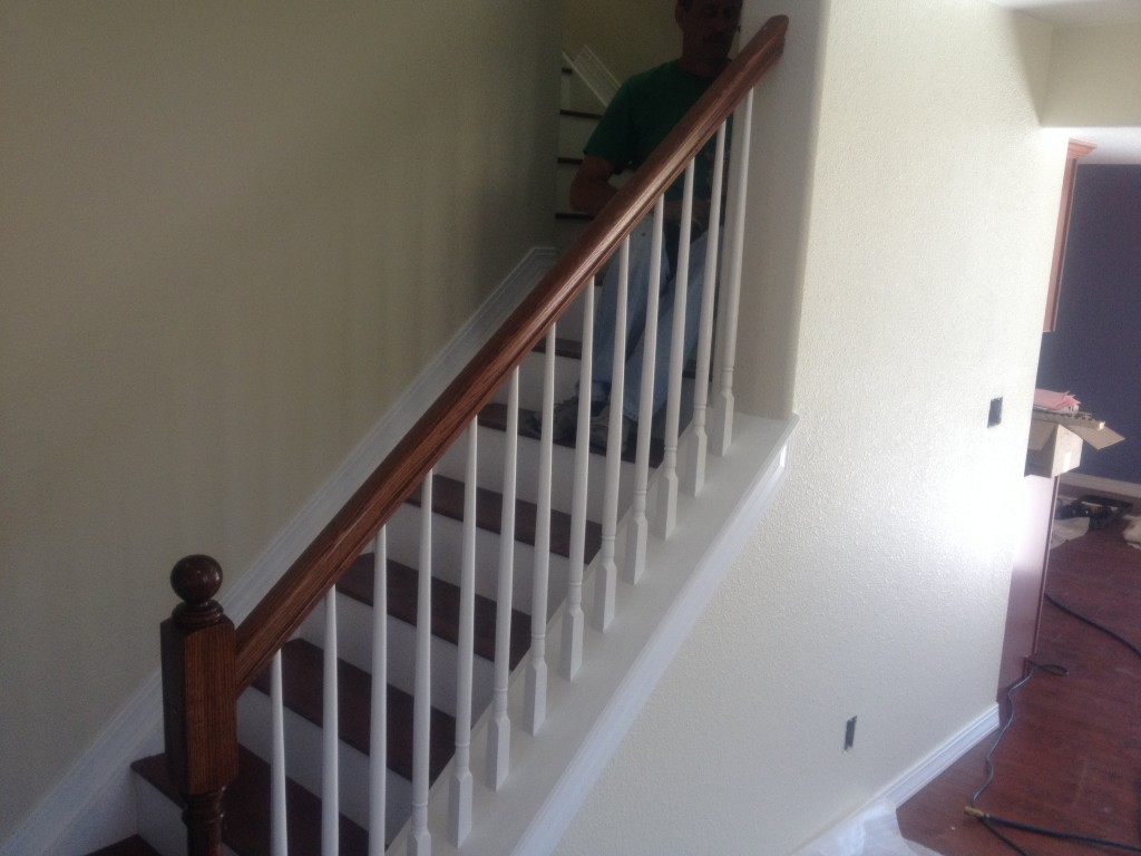 The stairs. I love it!