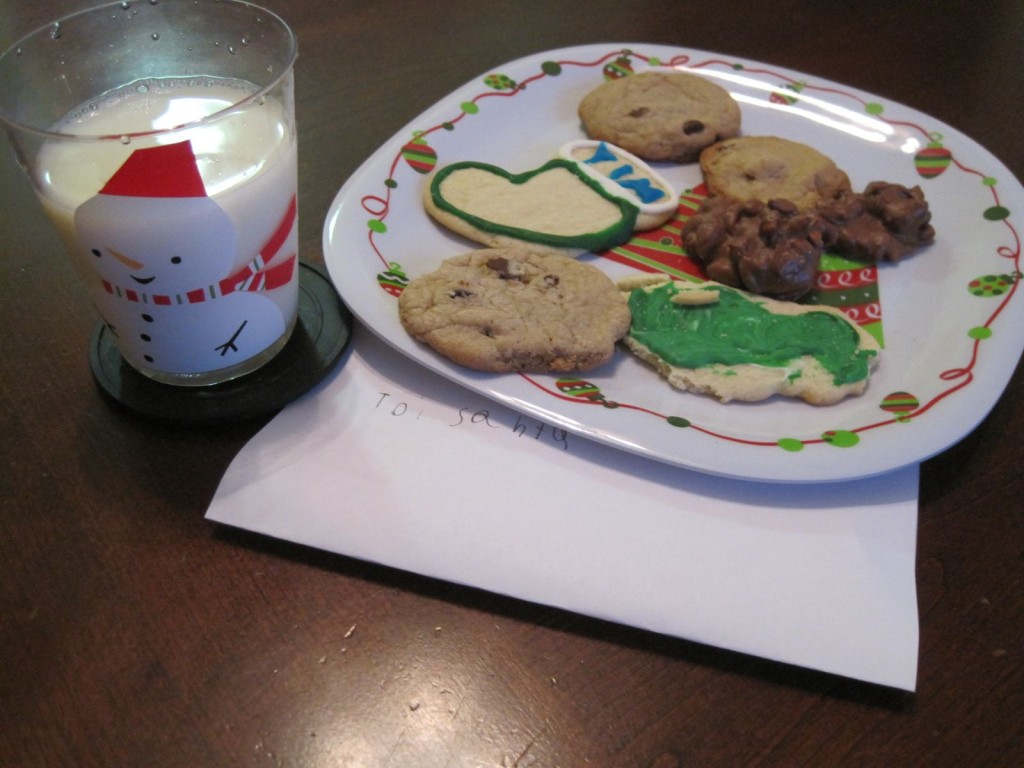 No matter what cookies we make, there's always some for Santa! What cookies are you making this year?
