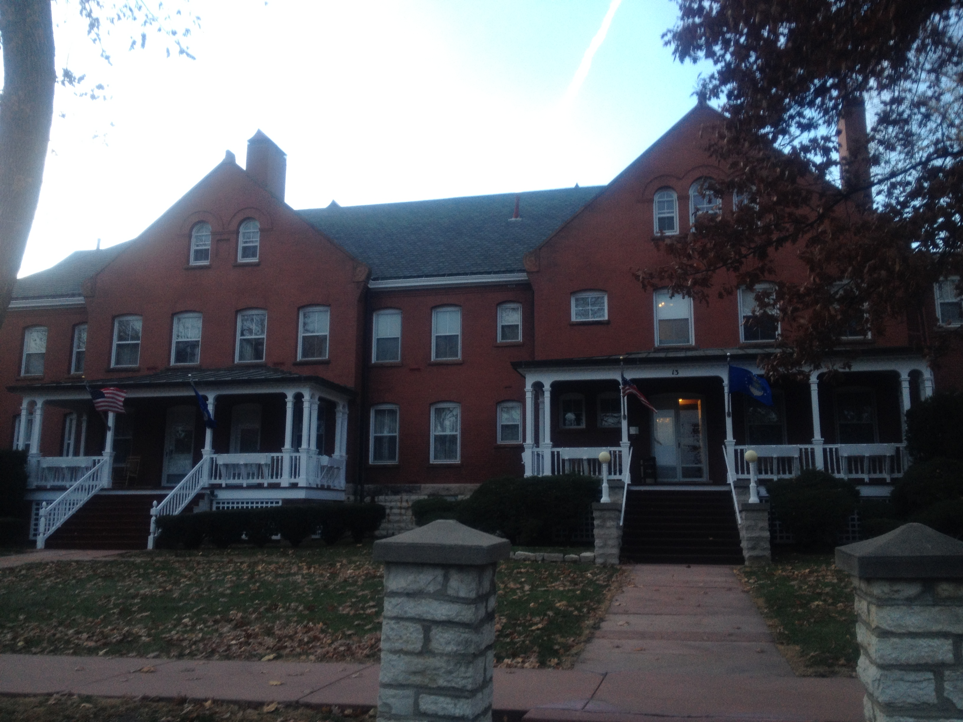 "The Historic Fort Crook Suites are on ""General's Row"" on Offutt AFB."