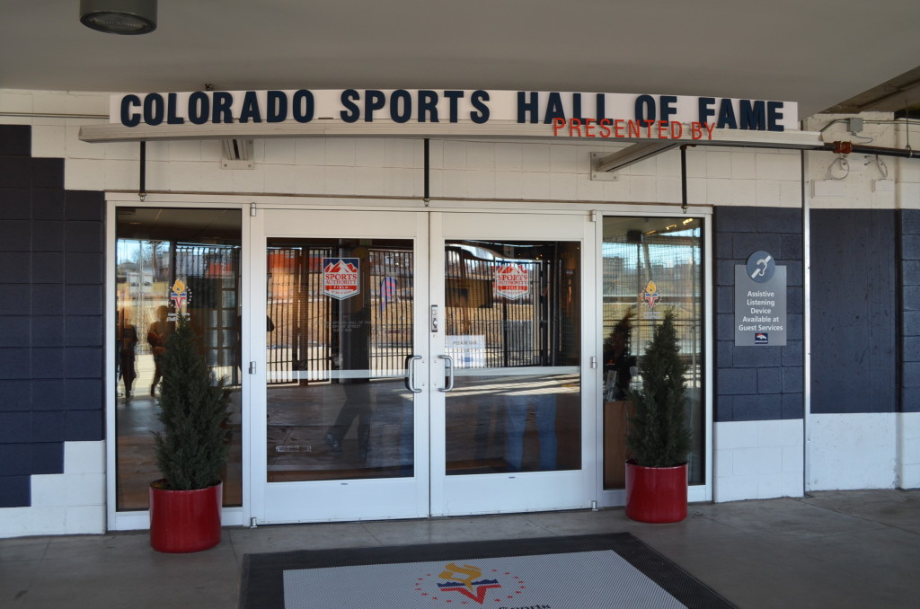 Stadium tours begin at the Colorado Sports Hall of Fame. The museum is free of charge. But there's a fee for the tours.