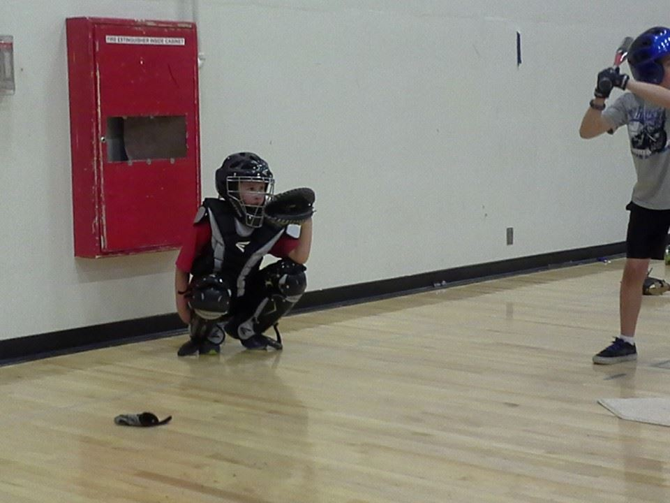 Timmy the catcher...again.