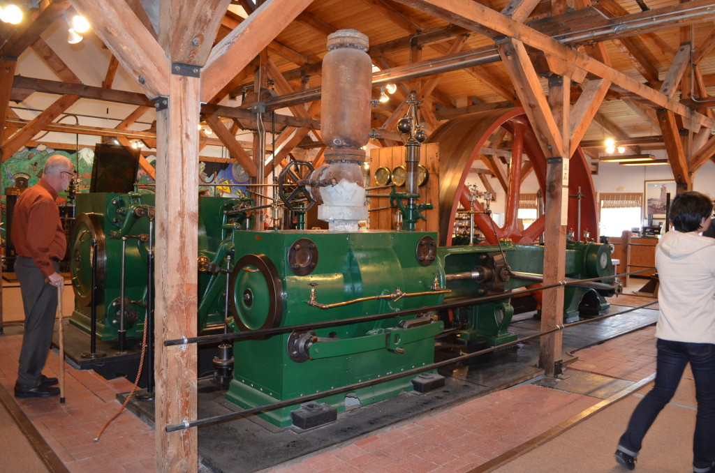 "This is a ""Corliss Steam Engine"", which was shipped via rail from New England to Colorado Springs in the late 1970s for the museum. It was reconstructed on the grounds and the main museum building was constructed around it. It was really neat to see the engine actually running."