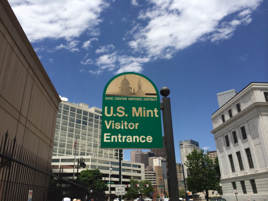 The Denver Mint is an interesting place to visit, but the security requirements are pretty stringent.