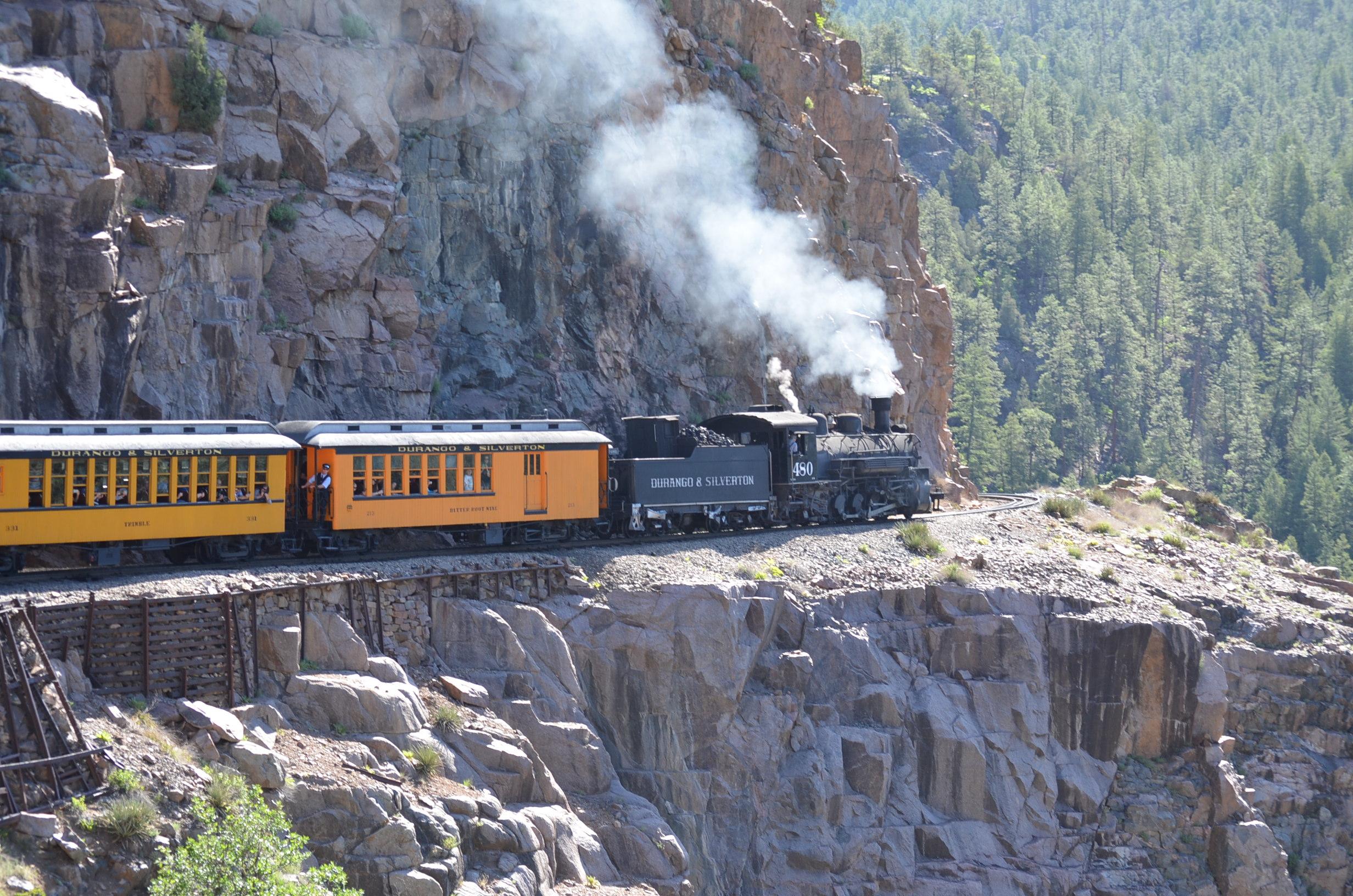 Colorado discoveries 38 the durango silverton narrow for The silverton