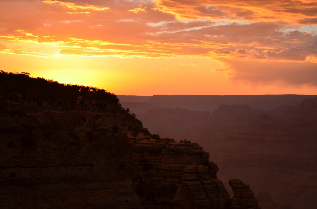 Nothing like it in the world...everybody needs to see the beauty of a Grand Canyon sunset.