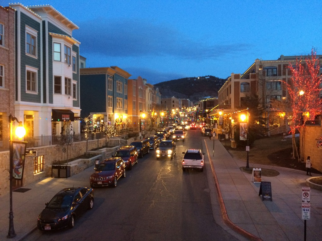 Park City is a lovely mountain town. It's worth visiting...