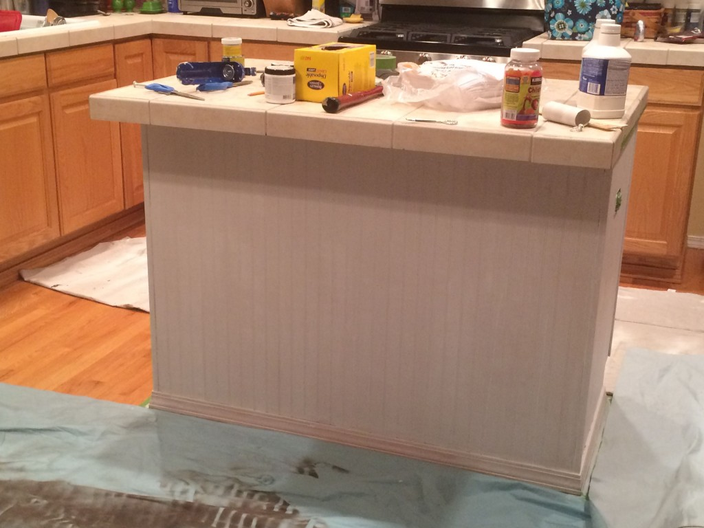 Primed and ready for the dark paint!