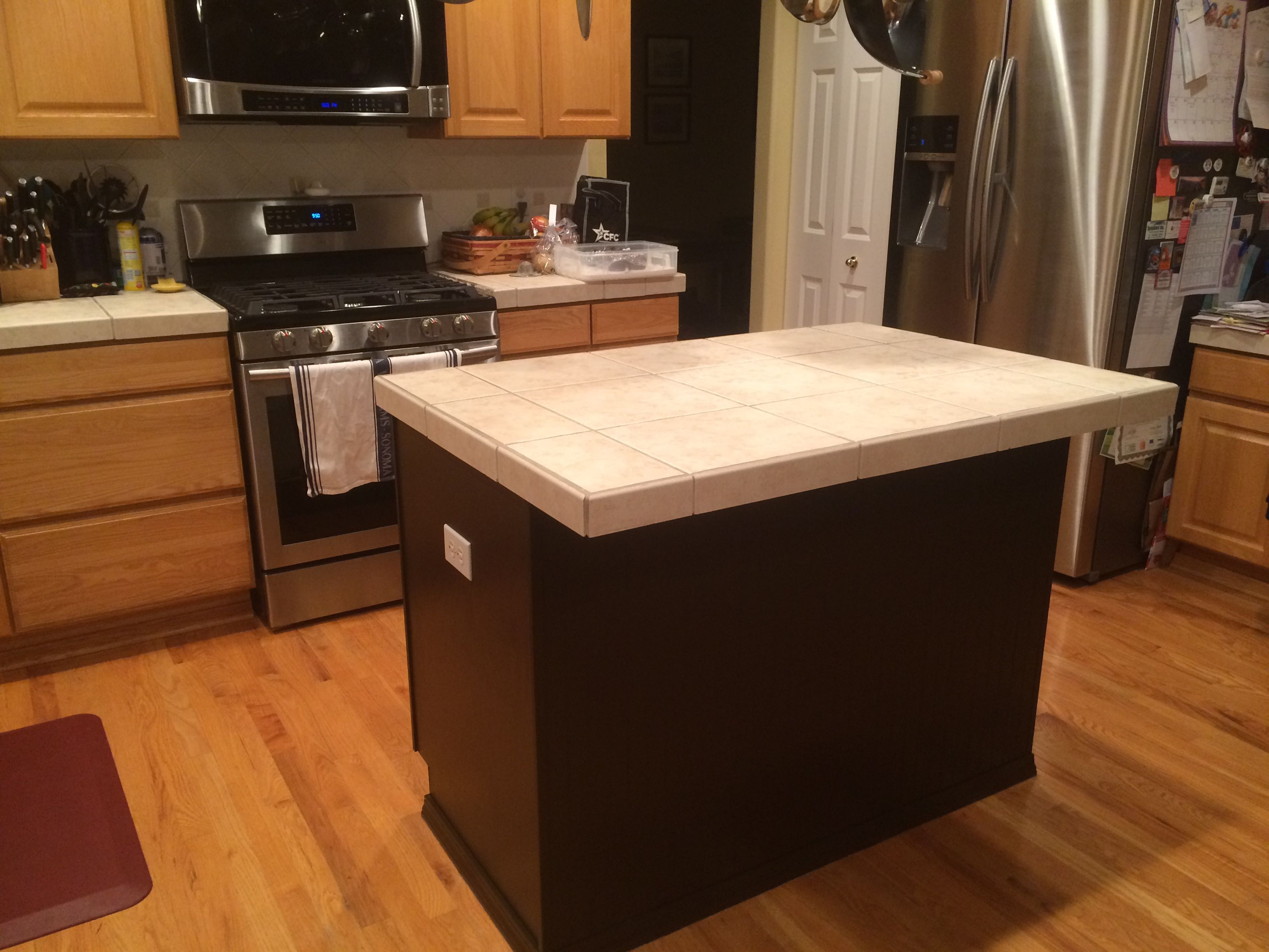 DIY Kitchen Transformation Painted Kitchen Island – Ground