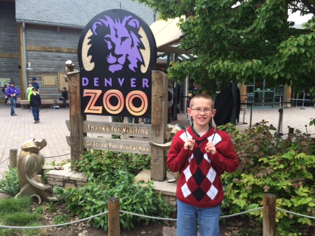 We got to spend the day at the zoo to celebrate Timmy's team winning a Stock Market Contest in his school district.