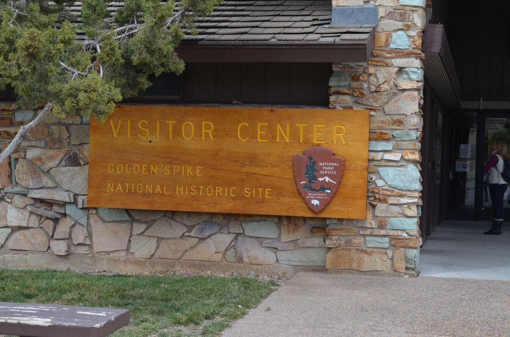 The Visitor Center is old, but full of great information.