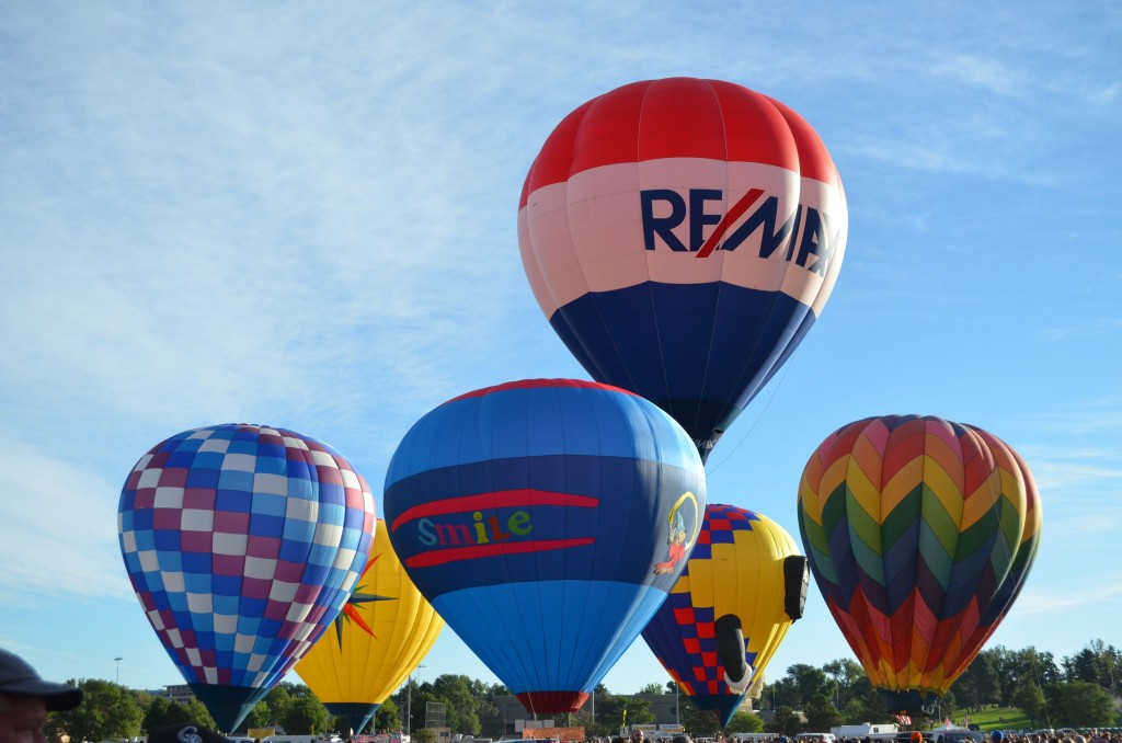 I got a kick out of seeing this Re-Max balloon, since its the companys logo.