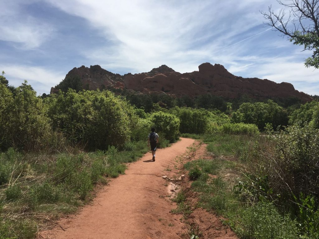 The Palmer Trail at the Garden of the Gods is our family's favorite hiking spot.